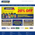 [VIC] Paint Spot 20% off Melbourne Cup Weekend - Every Brand of Paint, Decking Oil & Wood Stain