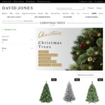 25% off All Christmas Trees at David Jones in Store or Online