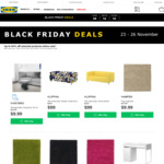 Black Friday Sale up to 50% on Some Products @ IKEA