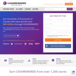 Cashrewards - $15 Welcome Bonus within 30 Days of Joining [New Members Only]