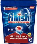 Finish All in One Max, $16.99 for 94 Tablets (18c Each) + Delivery (Free with Prime/ $49 Spend) @ Amazon AU