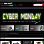 Ibanez AE205JR Acoustic Guitar $549, Audio Technica ATH-ANC9 $195, Marshall MG102CFX Guitar Amp $569, LP DJembe $299 @ SC Music