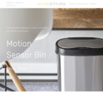 15% off Motion Sensor Bins with Batteries Included + Free Standard Shipping on All Orders over $100 @ Nine Stars Australia