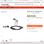 Edit: Sennheiser CX 1.00 Earphones $31.95 (now reduced to $28.45) + $4.95 Delivery @ Xtremeinn