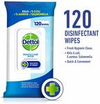 2x Dettol Antibacterial Disinfectant Wipes (Varieties) 120 Wipes $10 + Delivery (Free with Prime/ $49 Spend) @ Amazon AU