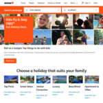 Jetstar - Kids Fly & Stay Free Bali Holiday Deals (July to December) Eg Four Points by Sheraton Kuta - 5 Nights $855/Adult