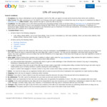10% off Sitewide (Minimum Spend $150, Max Discount $50, Max 3 Transactions) @ eBay