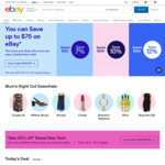 10% off Sitewide ($150 Min Spend, $50 Max Discount, Max 2 Transactions) @ eBay AU