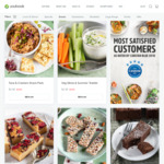 YouFoodz: 50% off Snacks + 1 Free Meal or $10 off