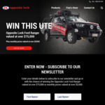 Win a 2019 Ford Ranger Worth $77,948 or Monthly Prizes from Automotive Brands Group