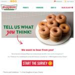 [NSW, VIC, QLD and WA] Free Doughnut for Completing Customer Survey @ Krispy Kreme