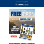Free Standard Delivery Today Only with $40 Minimum Order (Save from $6.95) @ First Choice Liquor