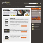 $20 off $150 Gift Card @ Good Food Gift Card