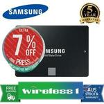 Samsung 860 EVO 1TB SSD $199.95 Delivered (+ Bonus $22 Cashback from Samsung) @ Wireless1 eBay