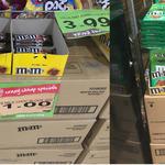 [WA] M&M's Milk Chocolate Block 160G $0.79 and M&Ms Milk Chocolate Bar 46G 4 for $1 @ Spudshed (Innaloo)
