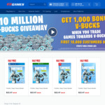 [PS4, XB1, Switch, PC] Fortnite: Deep Freeze Bundle $22.47 (Was $44.94) @ EB Games