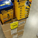 [ACT] Irwin Vise Grip 8 Piece Pliers Set $59 @ Bunnings, Canberra Airport