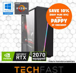 Ryzen Gaming PCs: R5-2600 RTX 2070: $1119.60 [$1057.40 eBay Plus] Delivered + Deal Summary @ TechFast eBay