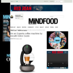 Win 1 of 2 Esperta Coffee Machines by Nescafé Dolce Gusto Worth $129 from MiNDFOOD