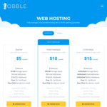 Lifetime 50% off Australian Web Hosting $27.50 for a Year ($2.50/Month) @ Obble Hosting