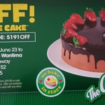 [VIC] $10 off Any Full Size Cake @ The Cheesecake Shop Wantirna