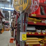 [NSW] Stop/Slow Traffic Control Sign $10 @ Bunnings, Belrose