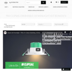 New Release - 9W Clipsal LED Downlight Kit 90mm - TPDL1C2 - from $191.25 for 10 Pack Bundle + Free Shipping @ Lectory