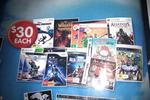 DSE - DVD $10, DVD Box Set $25, All CD $5, Kinect/PS3 Active $30, 3000 Xbox Points $40