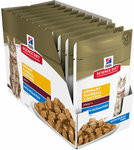 Buy 1, Get 1 Free - Selected Hills Science Diet Cat Food Pouches 12x85g ($43.90 Value for $21.95) + Free Delivery* @ Jumbo Pets