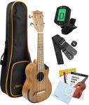 Martin Smith Ukulele Starter Kit with Aquila Strings $65.97 + Delivery ($0 with Prime) @ Amazon US via Amazon AU