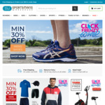 50% off Selected Brooks Shoes, 30% off Mens, Womens Shoes and Clothing and More @ Sportsmans Warehouse