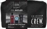 American Crew Fiber Pack (Daily Shampoo, Fiber, Shave Cream) $29.95 + $8 Delivery (Free over $50 Spend) @ Col Nayler Barber