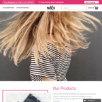 40% off Coloured Hair Straighteners $59.97 Free Express Shipping @ Nav's Hair