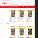 ½ Price Core Powerfoods Frozen Meal or Pizza 300g-350g $4.50 @ Coles