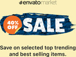 40% off Selected Envato Themeforest Web Themes - March 2020