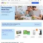 $5 off Eligible Items ($60 Min Spend) @ eBay AU