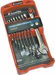 ToolPRO 9pc Metric Spanner Set $8, 23pc Impact Driver Bit Set $8, Toledo Multi-Purpose Electrical File $0.05 @ Supercheap Auto
