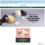 Click Frenzy: 20% off Online (Free Shipping Orders over $49) @ The Body Shop