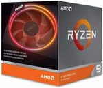 AMD Ryzen 9 3900X 3.8 Ghz 12-Core AM4 Processor with Wraith Prism Cooler $703.12 + Delivery ($0 with Prime) @ Amazon US via AU