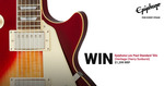Win an Epiphone Les Paul Standard '50s Guitar Worth $1,299 from Mannys