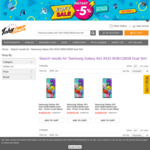 Samsung Galaxy A51 8GB/128GB Dual Sim $419 - Free Delivery (Grey Import) @ TobyDeals (HK)