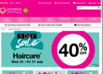 1/2 Price OGX, Hask, Herbal Essences, 40% off Hair Care, NYX, L'Oréal, Maybelline, Olay & ProX, Garnier @ Priceline