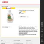 Bosisto's Sensitive Laundry Liquid $6.90 (Was $11.50) @ Coles