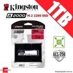 Kingston A2000 M.2 SSD 1TB $148.95, 500GB $81.95, Kingston A400 SATA SSD 480GB $74.95, 240GB $48.95 + Del @ Shopping Square