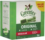 GREENIES Regular Dental Dog Treat 1kg (36 Treats) $34.99 ($31.49 S&S) + Delivery ($0 w/Prime / S&S / $39 Spend) @ Amazon AU