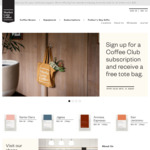 $10 off Coffee Beans and Brew Gear @ Market Lane Coffee