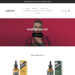 25% off Hair Products + Free Shipping over $22 @ Barber House