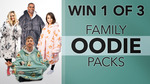 Win 1 of 3 Oodie Wearable Hooded Blanket Packs Worth $396 from Seven Network