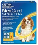 Nexguard Spectra 3.6-7.5kg Dog, 6 Pack $51.79 Delivered @ Amazon AU
