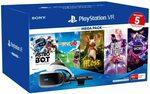 PlayStation VR Mega Pack Bundle 3 $299 (OOS), PlayStation VR with Camera and Game Bundle $249 @ Amazon AU